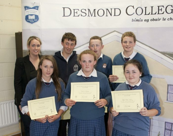 1st and 2nd Year Awards 2014