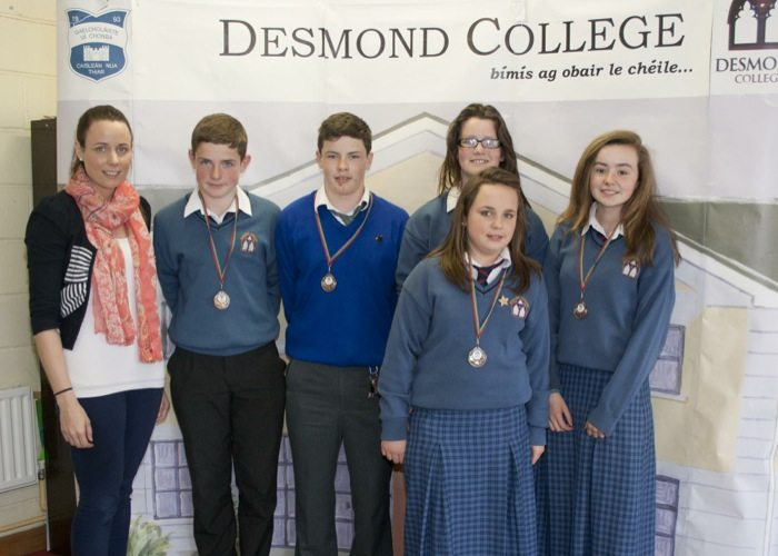 Desmond College Student Awards 2014 : 1st year and second year students