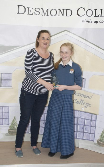 Desmond College : 1st and 2nd year awards 2014