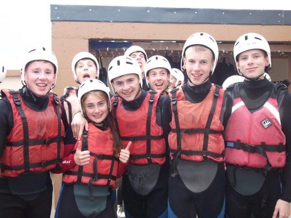 2014 Desmond College TY Trip to Achill