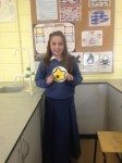 Desmond College Students from Rang Fionn and Rang Fidelma Making 3D Animal Cells for Ms Gemma Buicke's Science Class 2014 - 2015