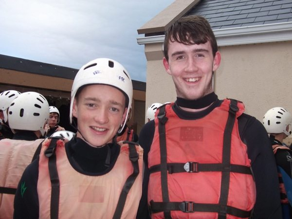 Desmond College TY Students 2014 2015 on their trip to Achill
