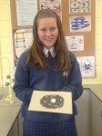 Students from Desmond College First Year Classes Fionn and Fidelma Making 3D Animal Cells in Science Class September 2014