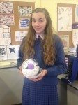 Students from Ms Gemma Buicke Science Class in Desmond College Making 3D Animal Cells