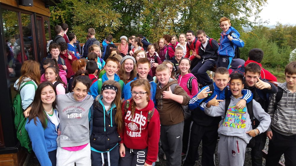 2014 October : First Years Hike with their TY Buddies