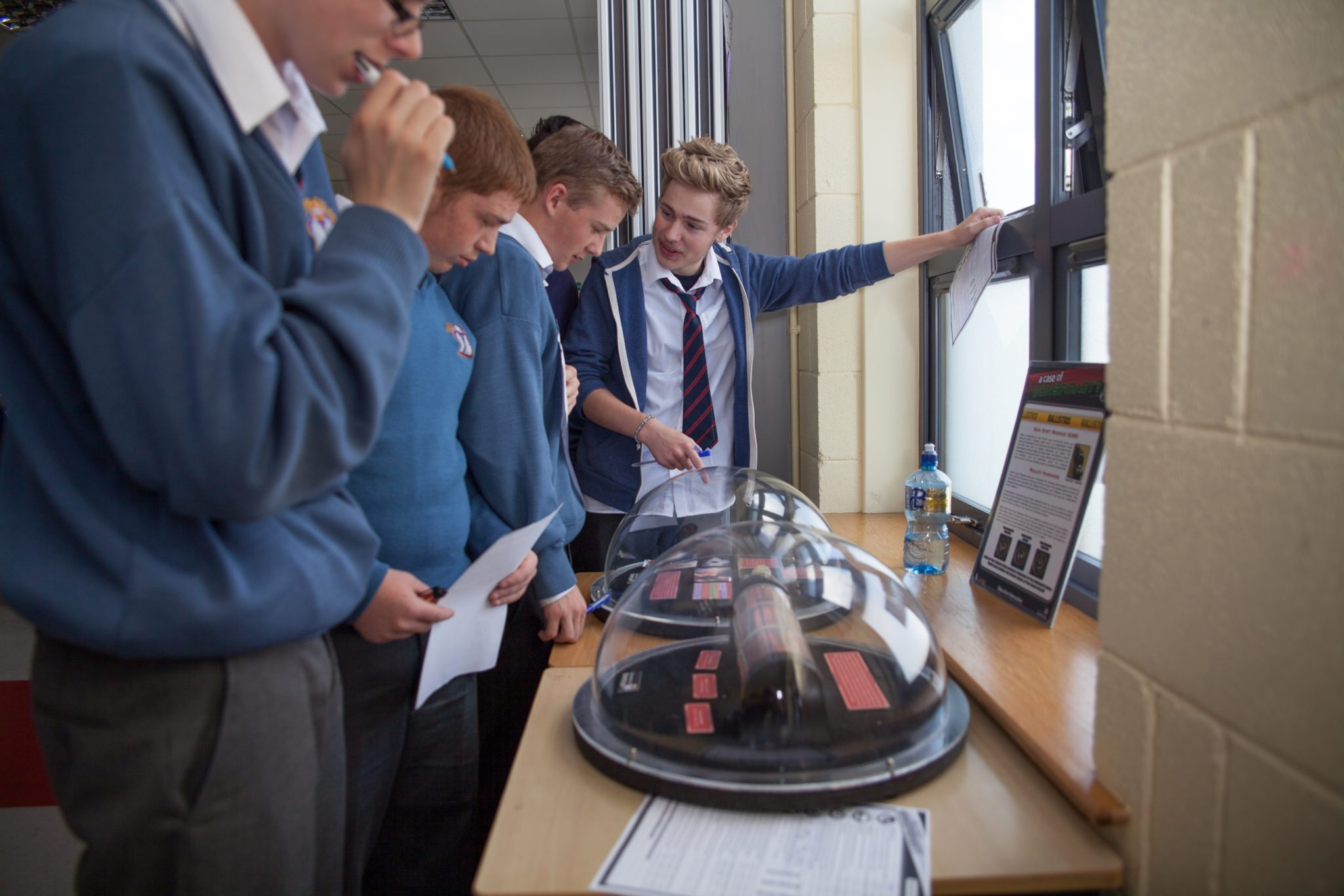 Forensic Science Day in Desmond College : October 2014