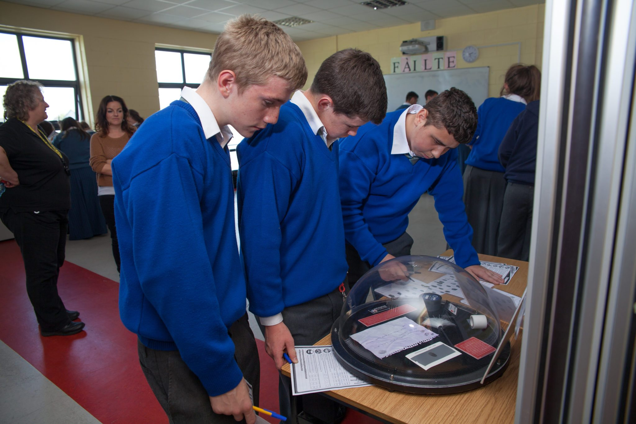 Desmond College Forensic Science Day : October 2014