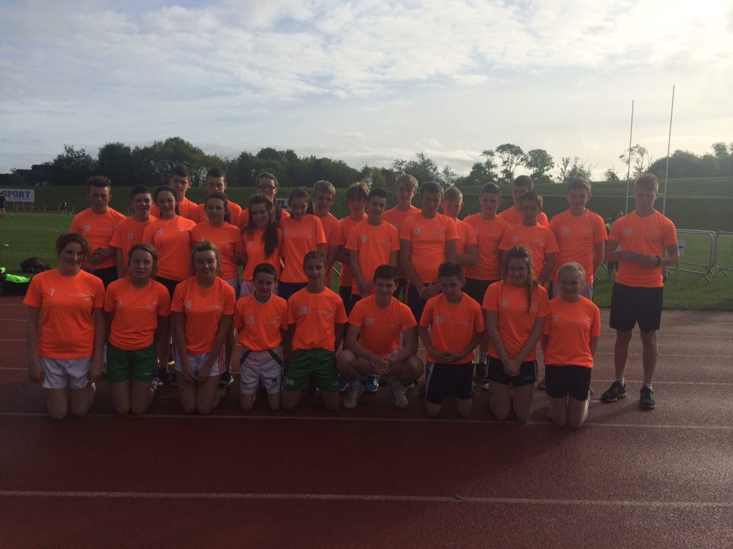 Desmond College Students complete the Marathon Challenge in the University of Limerick 2014