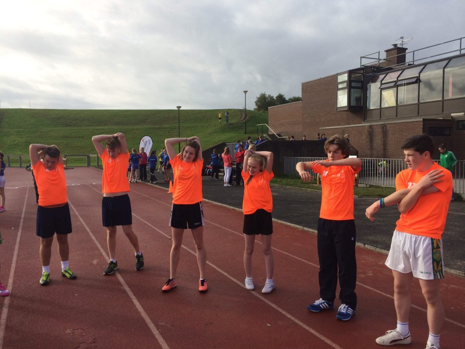 Desmond College Students complete the Marathon Challenge in UL 2014