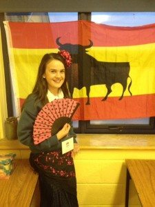 Desmond College Open Night 9th October 2014: a bit of spanish fun!