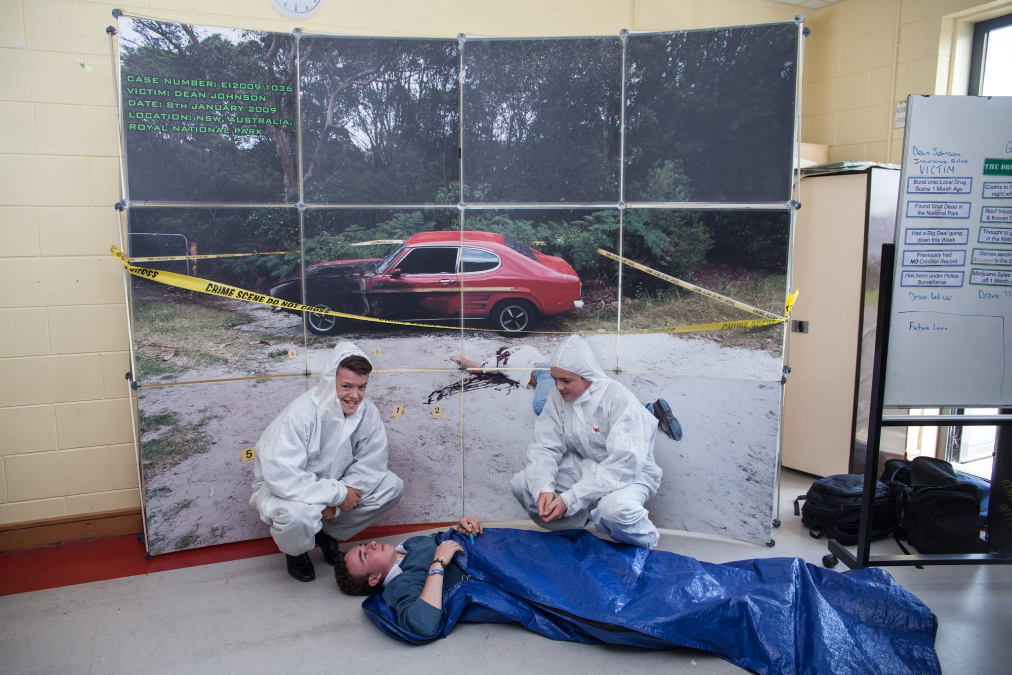Forensic Science Day in Desmond College October 2014