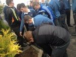 October 17th 2014 Planting of Crocuses for Holocaust Survivors