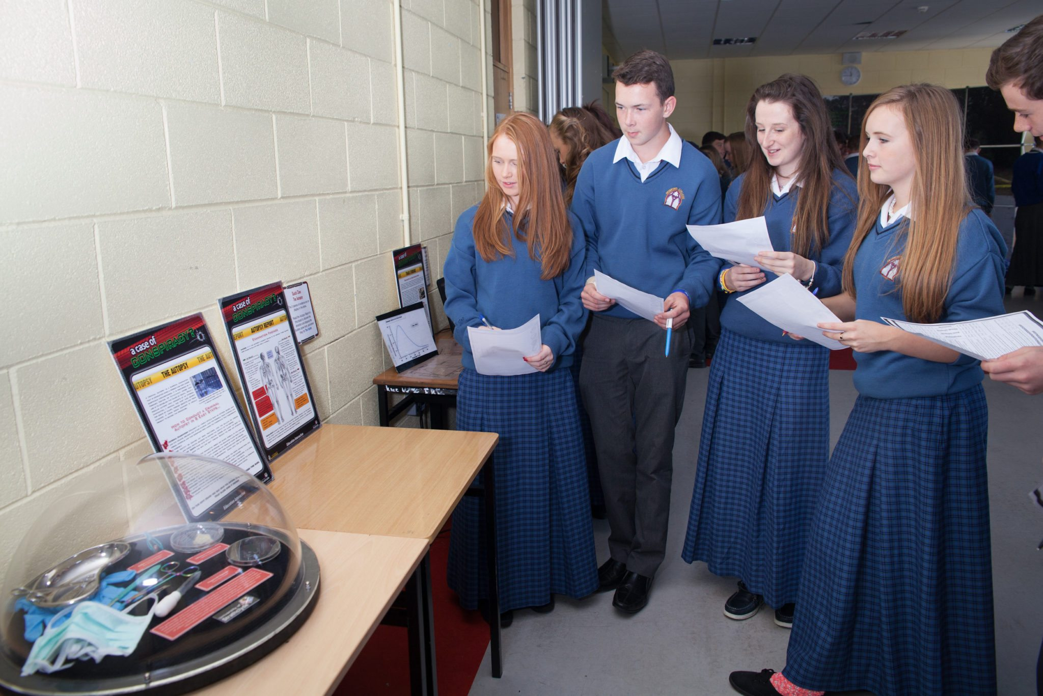 October: Students Enjoy Forensic Science Day at Desmond College