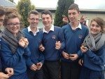 On 17th October 2014 Desmond College students planted Crocuses for Holocaust Survivors