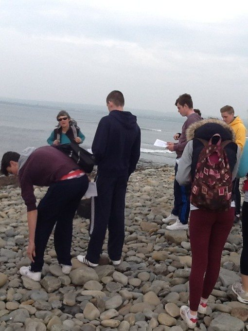 Geography Trip by the Leaving Cert Students Sept 2014