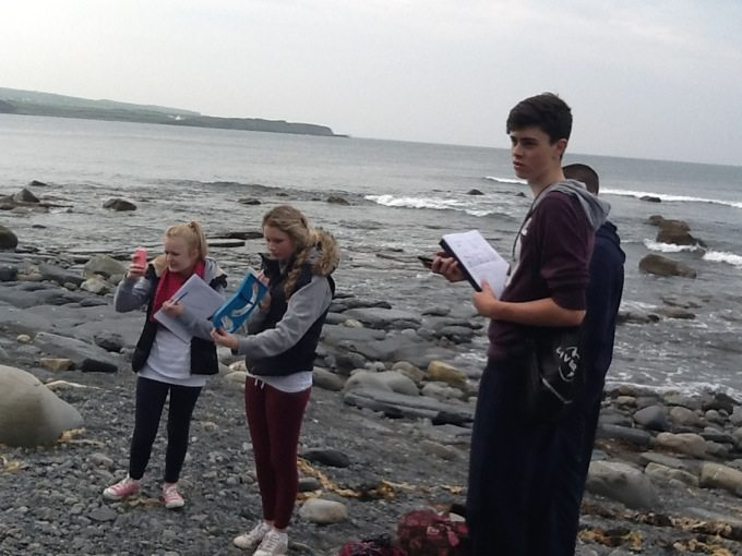 Desmond College Leaving Cert Students enjoying their 2014 Geography Trip