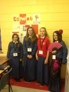 Spanish Language Fun at Desmond College at the 2014 School Open Night