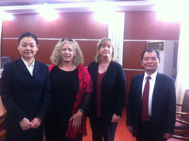 Oct / Nov 2014 : Beijing and Shanghai Chinese Visit by Principal Vourneen Gavin Barry of Desmond College with Irish Delegation