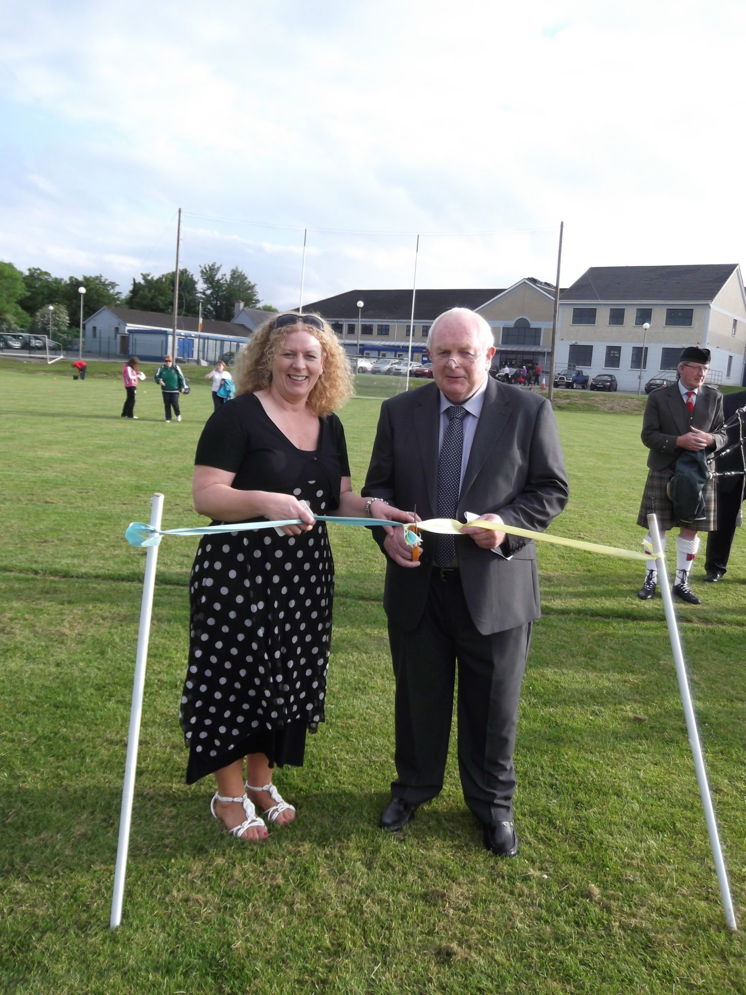 Official Opening of the School Pitch June 2014