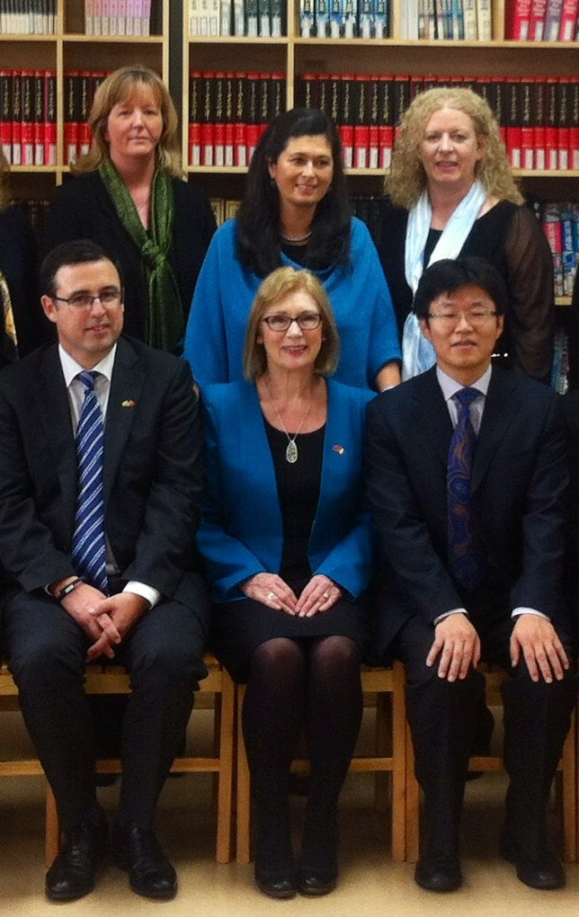 Irish Delegation to China including Principal of Desmond College Vourneen Gavin Barry : Oct / Nov 2014