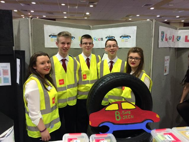 Be Safe Be Seen : Patreeze Nugent, Jack O Connor, Conor Reidy, Cillian McMahon and Claire Mortell