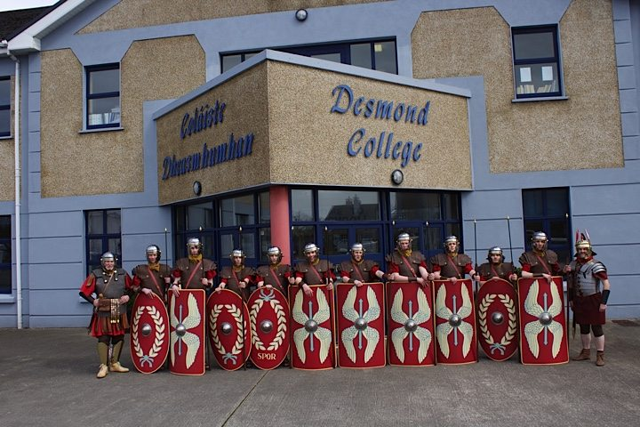 Desmond College Students  in the Way of the Cross 2015