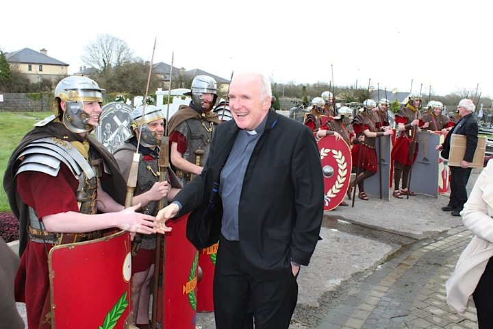 Limerick Bishop joined the Newcastle West Good Friday Way of the Cross 2015