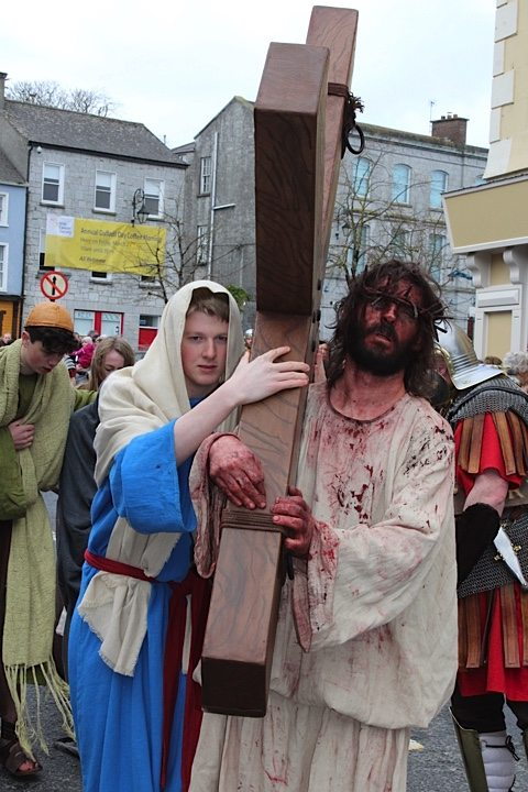 Desmond College's The Way of the Cross Newcastle West Good Friday April 2015