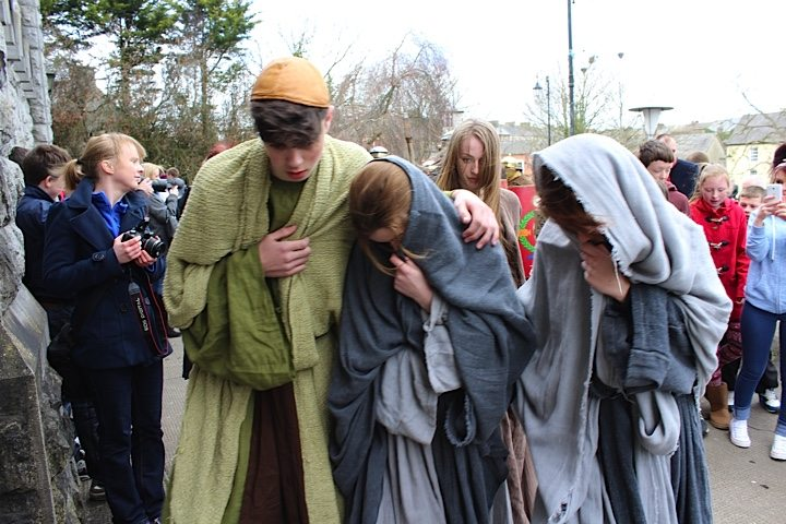The Way of the Cross Good Friday 2015 Around Newcastle West Co. Limerick