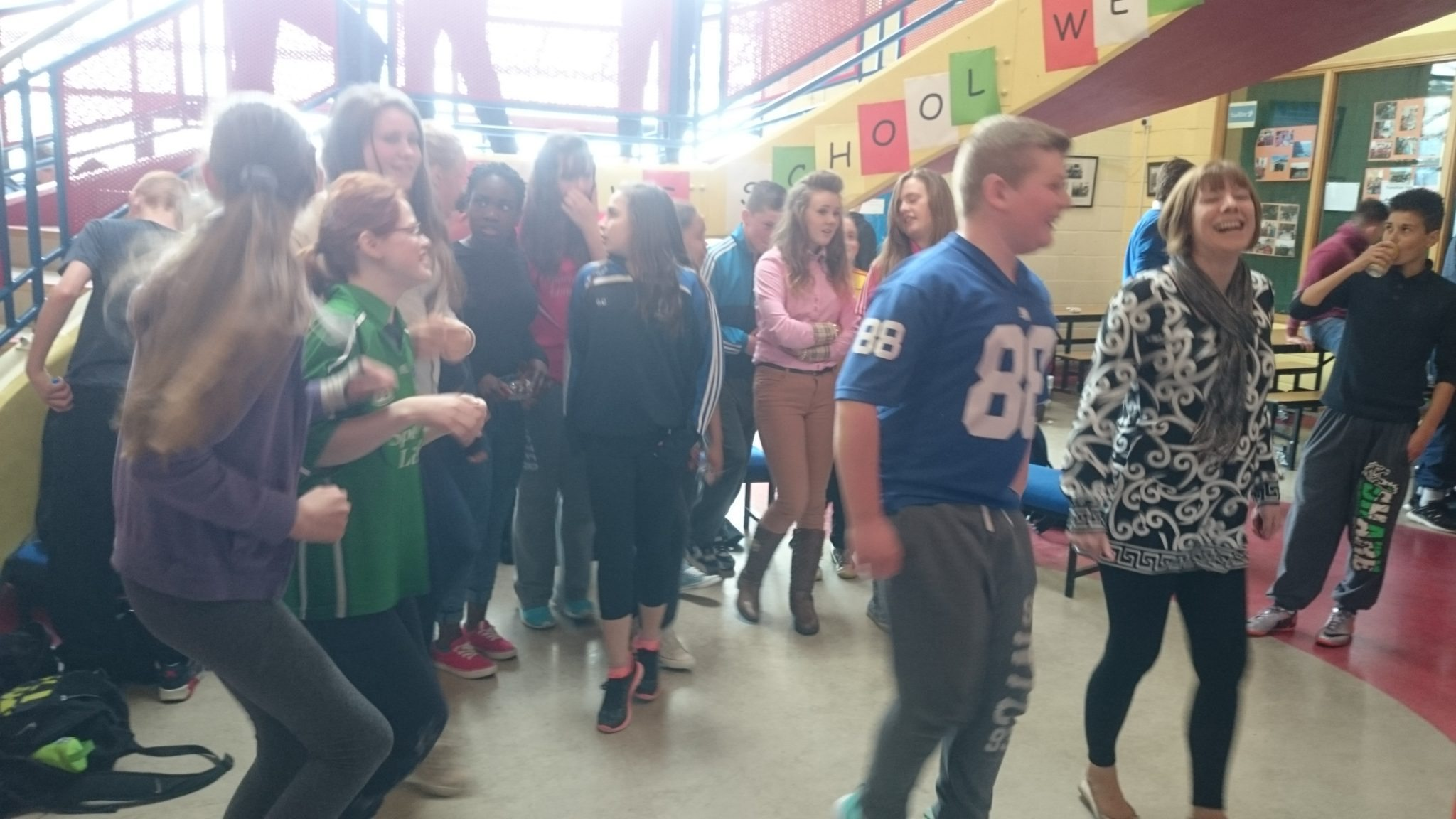 Desmond College : Irish Traditional Flash Mob