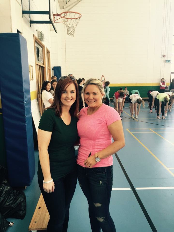 Ms Higgins and Ms Broderick organizers of the event for the very worthy cause, Console