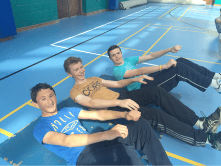 Desmond College Active Schools Week 2015