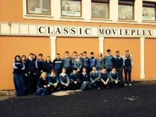 An Enjoyable Morning at the Cinema for Desmond college Fifth Year French Students to watch a movie in French: April 2015