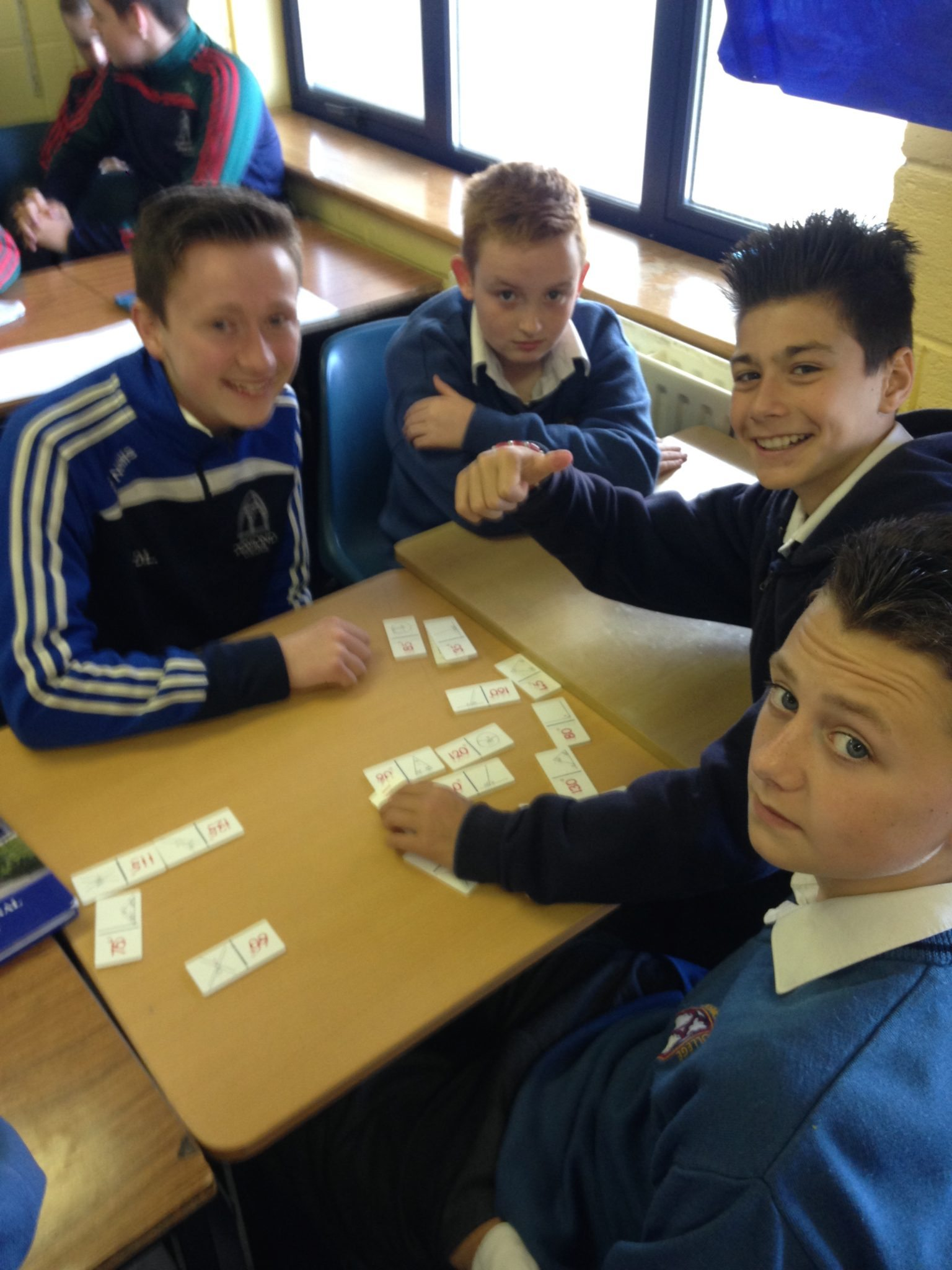 Desmond College Newcastle West 2015 : Peer Mentoring in Maths to Improve Numeracy Skills