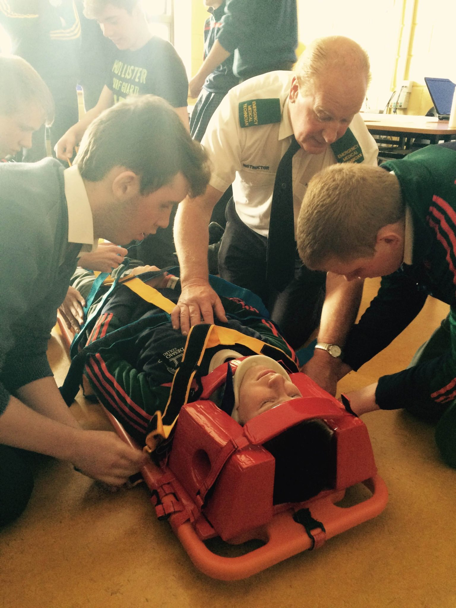 Transition Year Students in Desmond College Learn Some Essential First Aid Skills : May 2015