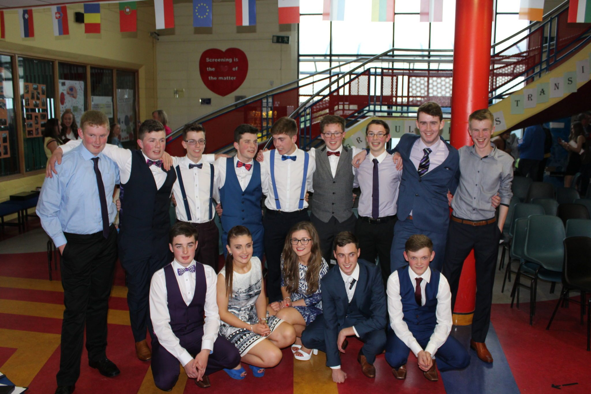 Desmond College TY Graduation 2015: Some of the TY Students at their Graduation