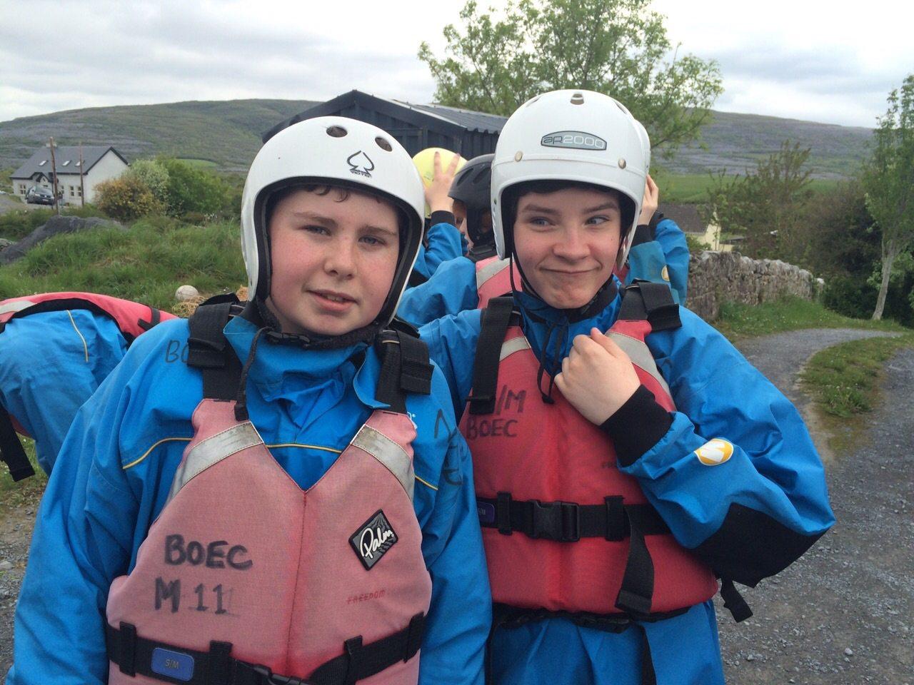 Desmond College: First Year Bonding Trip to the Burren