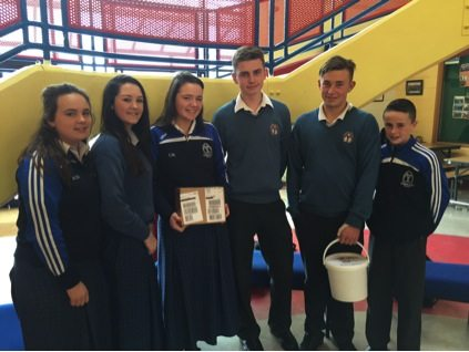October 2015: Desmond College students raise over €700 in Raising for Ricky