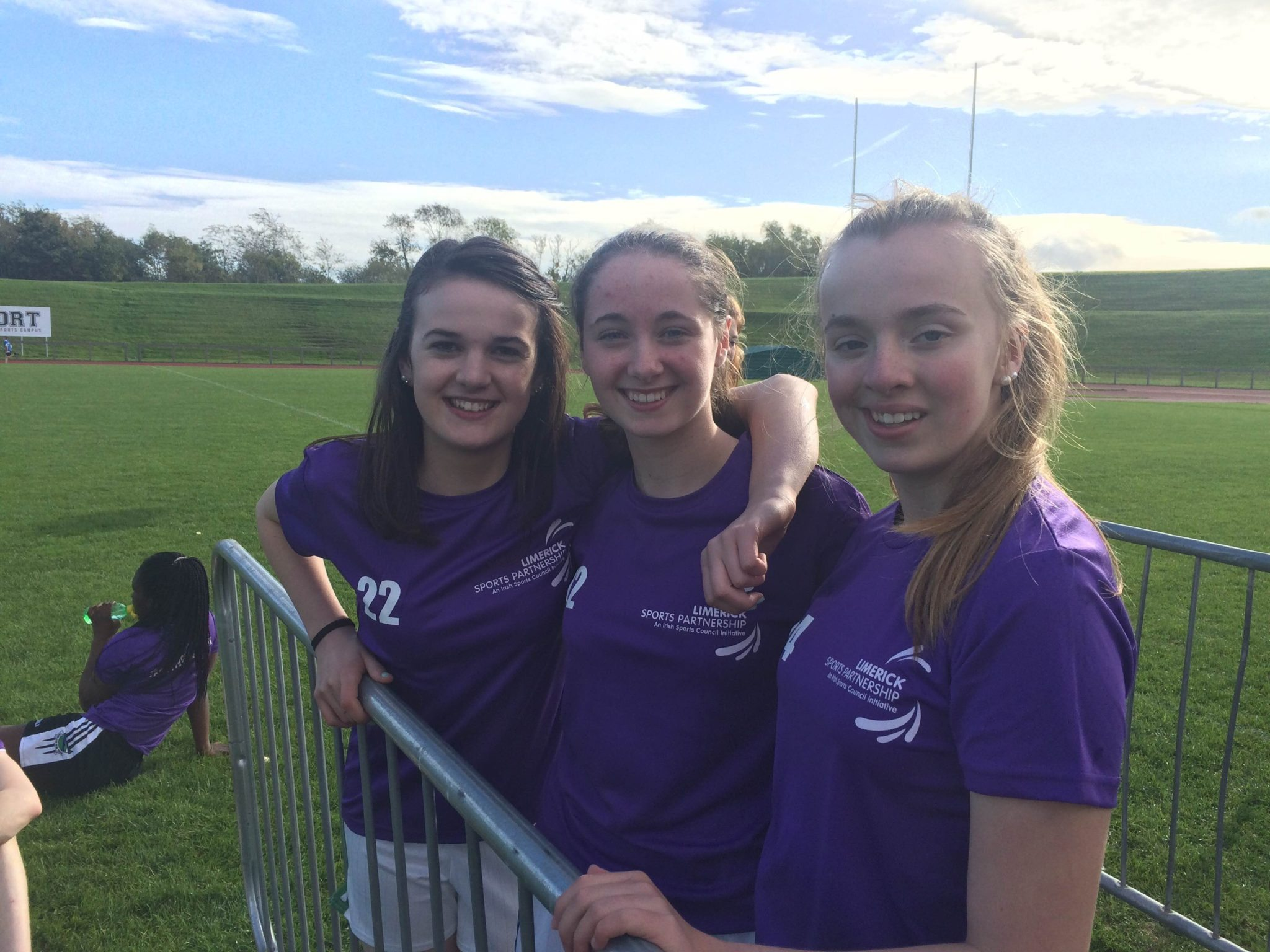 Oct 2015, University of Limerick: some of the desmond college second year girls who participated in the world marathon challenge