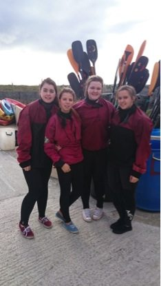 2015 October: Desmond College Transition Year students ready to go surfing