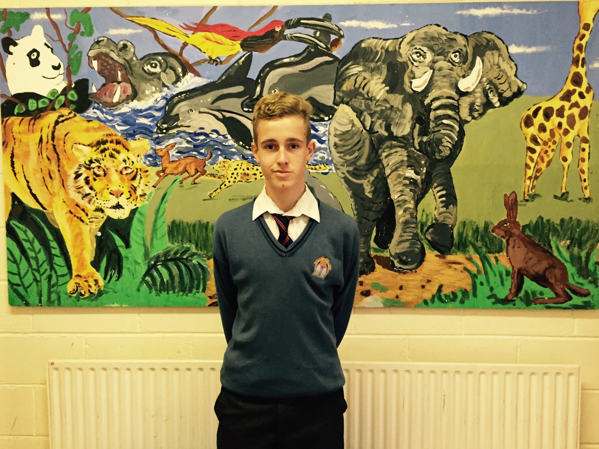 Oct 2015: Desmond College students Achieve Outstanding Sporting Success by Being Accepted onto the Irish Squad: Cillian Brouder and Mikey Conlon