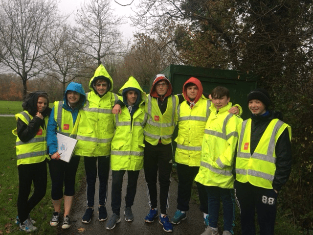 2015 December: Transition Year Students at the LCETB Cross Country Competition