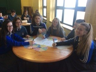 December 2015: Desmond College Transition Year students year students participate in the literacy week