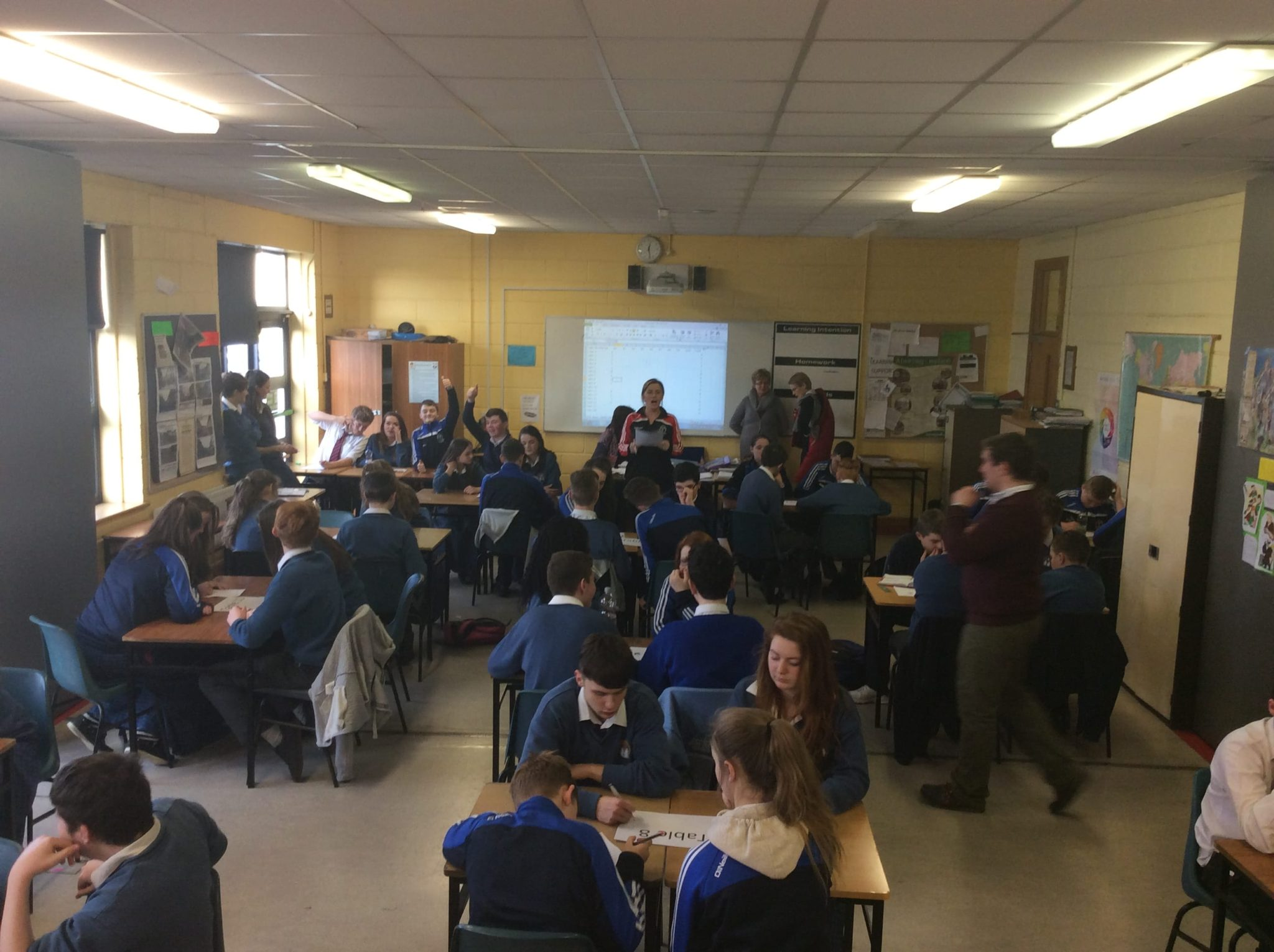 Jan 2016: Numeracy Week in Desmond College