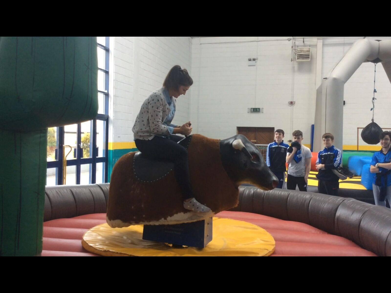 2016 April 18th: Active Schools Week 2016 in Desmond College: Monday