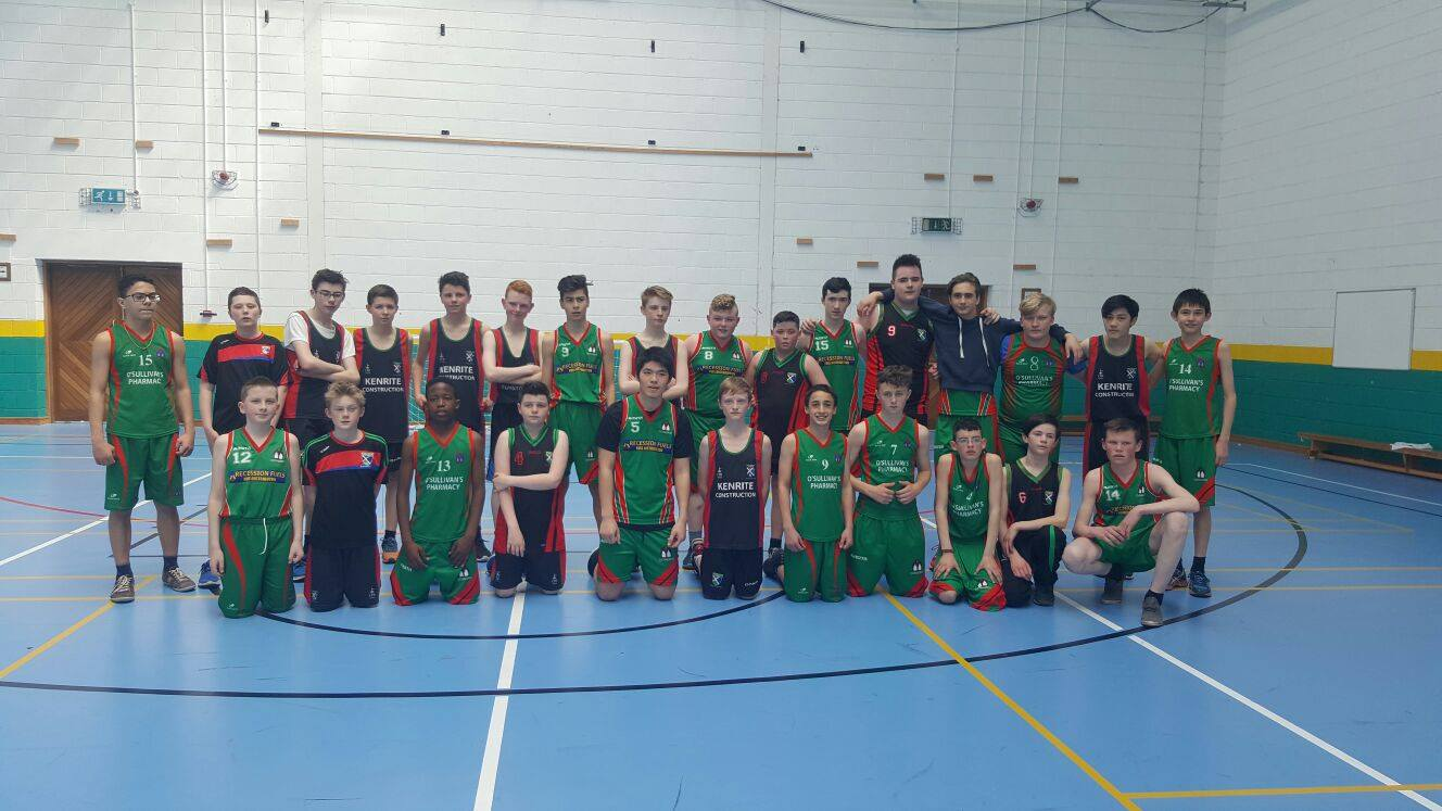 19th April 2016: Active Schools Week 2016 in Desmond College : Soccer Tournament, Zumba and Lunchtime Basketball