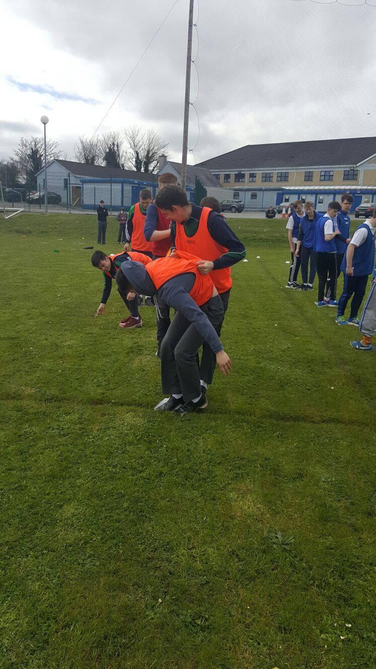 19th April 2016: Desmond College's Active Schools Week 2016 Team Building Workshop