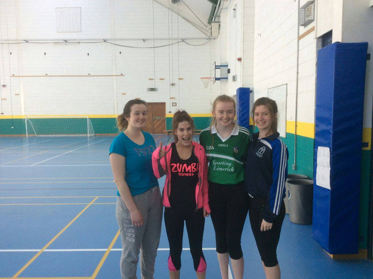 20th April 2016: Active Schools Week 2016: 5th Year Girls Zumba Class #activetuesday