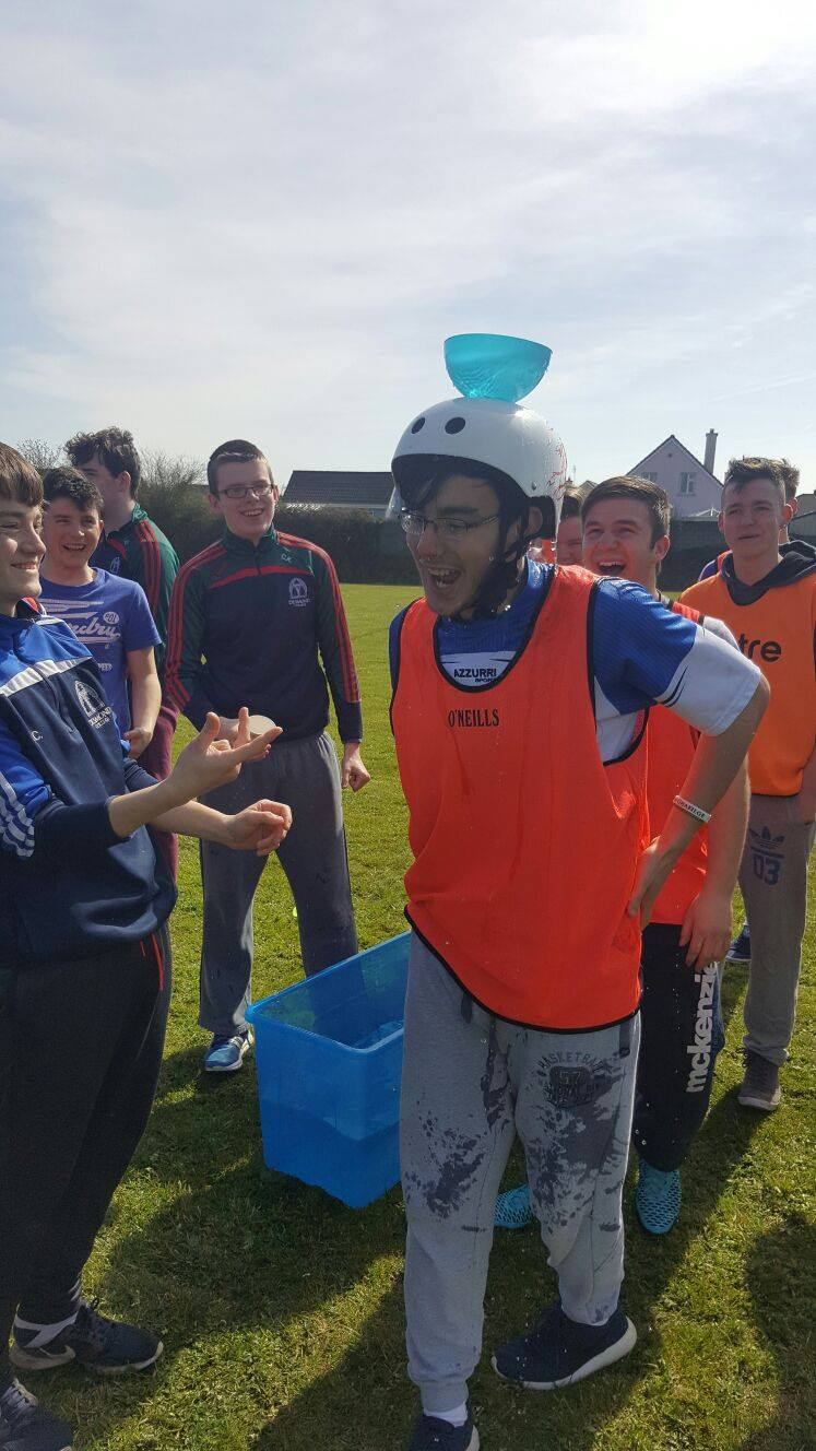 20th April 2016: Desmond College 5th Years Team Building Exercise on ActiveWednesday during Active Schools Week 2016