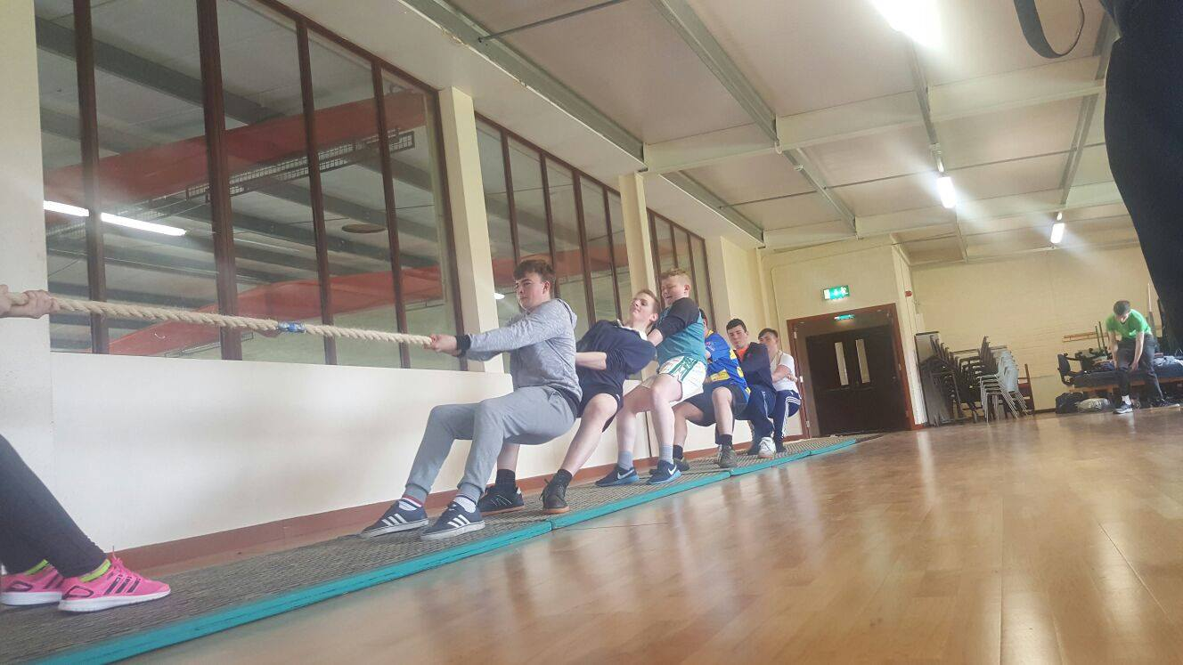 21st April 2016: Desmond College Active Schools Week 2016: ActiveThursday: Western Gales Tug of War Competition